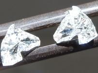 SOLD....Colorless Diamond Earrings: .60ctw H-I SI1 Horse Head Diamond Earrings R5894