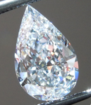 SOLD.....Loose Colorless Diamond: .89ct D SI2 Pear Shape GIA Completely Eye Clean R5938