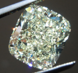 SOLD.....Loose Yellow Diamond: 4.02ct W-X SI2 Cushion Cut GIA Extraordinary Stone R5966