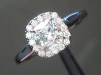 0.72ct G SI1 Old Mine Brilliant Diamond Ring R5960