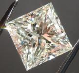 Loose Diamond: 4.02ct M VS2 Princess Cut Diamond Value GIA R6121
