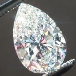 SOLD...Loose Colorless Diamond: .91ct I VS2 Pear Shape Diamond GIA R6122