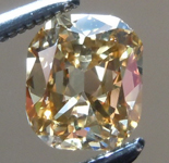 SOLD....Loose Brown Diamond: .56ct Fancy Brown-Yellow VS2 Cushion Cut Diamond GIA R6134