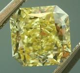 SOLD...Loose Yellow Diamond: .73ct Fancy Intense Yellow VVS2 Radiant Cut Diamond GIA R6224