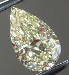 SOLD...Loose Yellow Diamond: .60ct Fancy Yellow Internally Flawless Pear Shape Diamond GIA R6232