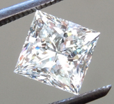 SOLD...Loose Colorless Diamond: 1.01ct J SI2 Princess Cut Diamond GIA R6257