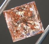 Loose Diamond: 3.03ct Fancy Brown-Orange Princess Cut Diamond GIA R6270