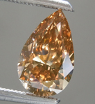 SOLD.....Loose Brown Diamond: 1.11ct Fancy Brown VS2 Pear Shape Diamond R6296