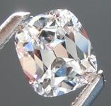 SOLD...Loose Colorless Diamond: .55ct E SI2 Cushion Cut Diamond GIA R6317