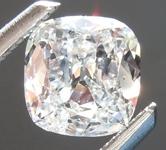 SOLD...Loose Colorless Diamond: .53ct E I1 Cushion Cut Diamond GIA R6314