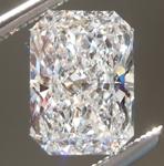 SOLD....Loose Colorless Diamond: 1.60ct E VS2 Original Radiant Cut Diamond GIA R6143