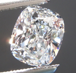SOLD....Loose Colorless Diamond: .74ct E VS1 Cushion Cut Diamond GIA R6315