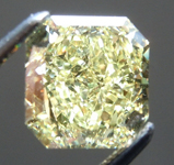 SOLD.....Loose Yellow Diamond: 1.84ct Fancy Yellow SI2 Radiant Cut Diamond GIA R5249