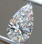 SOLD...Loose Colorless Diamond: .49ct H Internally Flawless Pear Shape Diamond GIA R6475