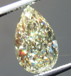 SOLD....Loose Yellow Diamond: 1.27ct Y-Z VVS1 Pear Shape Diamond GIA R6482