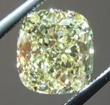 SOLD.......Loose Yellow Diamond: 1.73ct Fancy Yellow SI1 Cushion Modified Brilliant Diamond GIA R6497