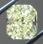 Loose Yellow Diamond: 2.44ct Fancy Yellow VS1 Radiant Cut Diamond GIA R6499