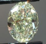 SOLD....Loose Yellow Diamond: 4.03ct Y-Z I1 Oval Brilliant Diamond GIA R6526