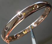 SOLD...Diamond Bracelet: 2.41ctw Natural Brown Cushion Cut Diamond Bracelet R6378