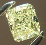 SOLD...Loose Yellow Diamond: .45ct Fancy Yellow VS1 Cushion Cut Diamond GIA R6549