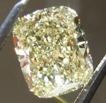 SOLD...Loose Yellow Diamond: 1.73ct Fancy Yellow VVS1 Cushion Cut Diamond GIA R6559