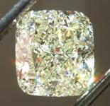 SOLD...Loose Yellow Diamond: 2.10ct U-V VS1 Cushion Cut Diamond GIA R6561