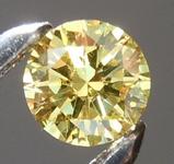 SOLD...Loose Yellow Diamond: .16ct Fancy Intense Yellow SI2 Round Brilliant Diamond GIA R6573