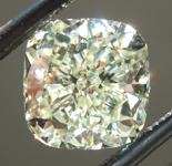 SOLD...Loose Yellow Diamond: 1.68ct Y-Z VVS2 Cushion Cut Diamond GIA R6566