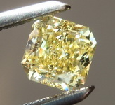SOLD......Loose Diamond: .44ct Fancy Intense Yellow VVS1 Radiant Cut Diamond R6591