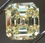 6.24ct Fancy Intense Yellow VS1 Emerald Cut Diamond GIA R6651