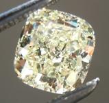 SOLD.....Loose Yellow Diamond: 1.05ct W-X SI1 Cushion Cut Diamond GIA R6648