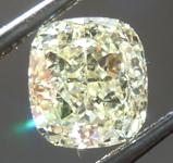 SOLD....Loose Yellow Diamond: 1.15ct Y-Z VS2 Cushion Cut Diamond GIA R6668
