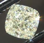 SOLD...Loose Yellow Diamond: 2.12ct U-V VS1 Cushion Cut Diamond GIA R6667