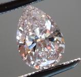 SOLD........Loose Pink Diamond: .50ct Faint Pink VS1 Pear Brilliant Diamond GIA R6674