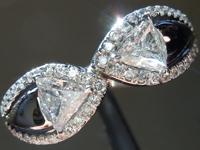 SOLD... 0.52cts G VS2 Trilliant Diamond Ring R6678