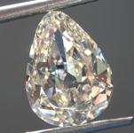 Loose Diamond: 3.15ct Fancy Light Brownish Yellow SI1 Pear Modified Brilliant Diamond GIA R6720