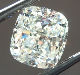 SOLD.....Loose Colorless Diamond: 1.06ct J SI1 Cushion Cut Diamond GIA R6697