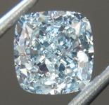 SOLD....Loose Green Diamond: 1.01ct Light Green SI1 Cushion Cut Diamond GIA R6744