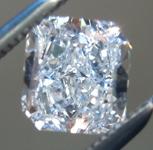 SOLD.......Loose Blue Diamond: .57ct Fancy Light Blue IF Radiant Cut Diamond GIA R6757