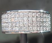 SOLD......Diamond Ring:   2.14ctw E-F VS Round Brilliant Diamond Band R6750