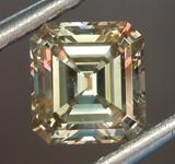 SOLD.......Loose Diamond: .91ct Fancy Brown-Greenish Yellow SI1 Emerald Cut Diamond GIA R6843