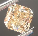 SOLD....Loose Diamond: .61ct Fancy Brown Yellow VS1 Radiant Cut Diamond GIA R6849