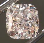 SOLD....Loose Diamond: 1.18ct W-X, Light Brown SI1 Cushion Cut Diamond GIA R6915