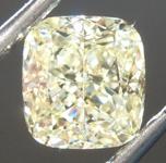 SOLD......Loose Yellow Diamond: 1.40ct W-X VS1 Cushion Cut Diamond GIA R6951
