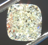 SOLD....Loose Yellow Diamond: 2.03ct U-V VS2 Cushion Modified Brilliant Diamond GIA R6903