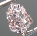 SOLD.......Loose Diamond: .99ct Fancy Light Pinkish Brown SI2 Kite Diamond GIA R7034