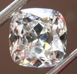 SOLD....Loose Colorless Diamond: 2.50ct G VS2 Old Mine Brilliant Diamond GIA R7049