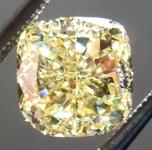 SOLD.....Loose Yellow Diamond: 1.94ct Fancy Intense Yellow VS1 Cushion Modified Brilliant Diamond GIA R7060