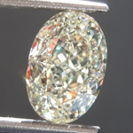 1.60ct U-V VS1 Oval Shape Diamond R7061