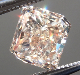 SOLD...Loose Brown Diamond: 1.05ct Y-Z, Light Brown VS1 Radiant Cut Diamond GIA R7066
